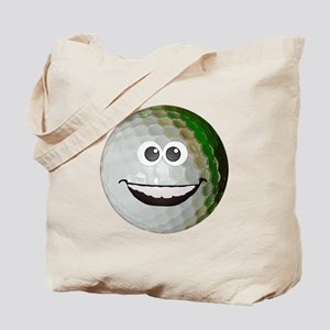 Happy golf ball Tote Bag