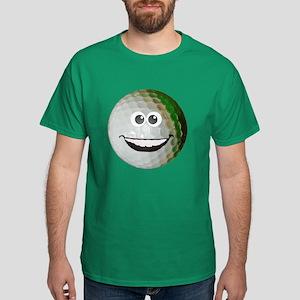 Happy golf ball Dark T-Shirt