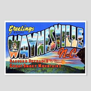 Waynesville North Carolina Postcards (Package of 8