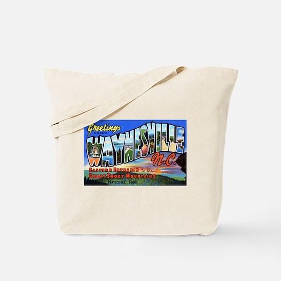 Waynesville North Carolina Tote Bag