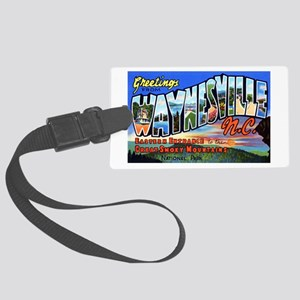 Waynesville North Carolina Large Luggage Tag