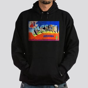 Tucson Arizona Greetings Hoodie (dark)