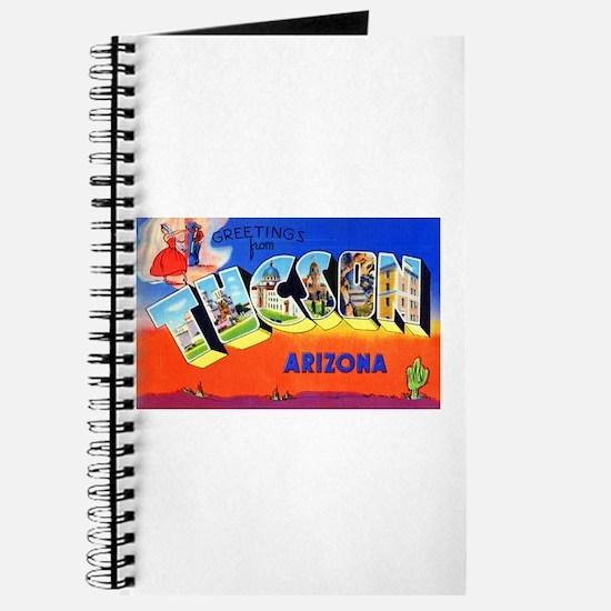Tucson Arizona Greetings Journal