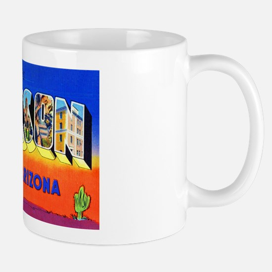 Tucson Arizona Greetings Mug
