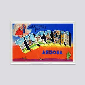 Tucson Arizona Greetings Rectangle Magnet