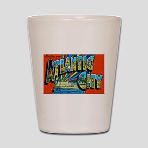 Atlantic City New Jersey Shot Glass