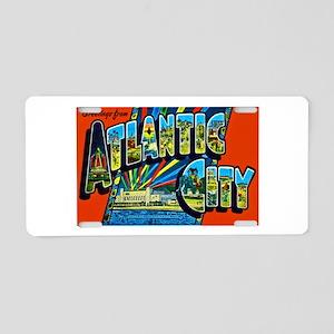 Atlantic City New Jersey Aluminum License Plate