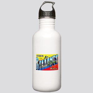 Billings Montana Greetings Stainless Water Bottle