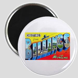 Billings Montana Greetings Magnet