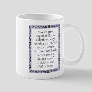 So We Grew Together 11 oz Ceramic Mug