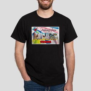 Dallas Texas Greetings Dark T-Shirt