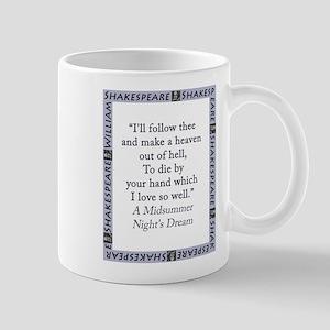 Ill Follow Thee 11 oz Ceramic Mug