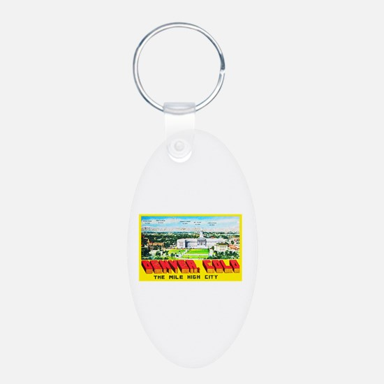 Denver Colorado Greetings Keychains