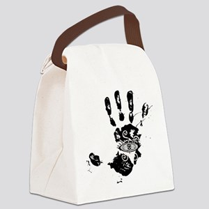 Hand of Fatima Canvas Lunch Bag