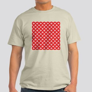 Fleur-de-lis on red Light T-Shirt