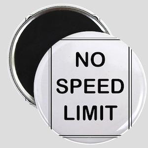 """""""No Speed Limit"""" Magnet"""