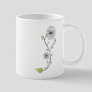 Flower Doodle S Mug