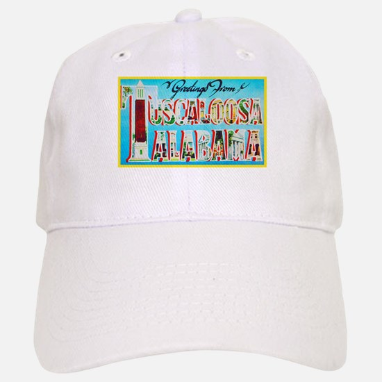 Tuscaloosa Alabama Greetings Baseball Baseball Cap