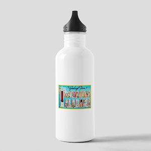 Tuscaloosa Alabama Greetings Stainless Water Bottl