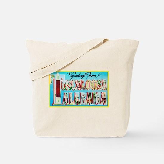 Tuscaloosa Alabama Greetings Tote Bag