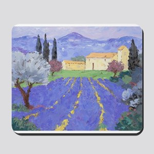 Lavender Farm Mousepad