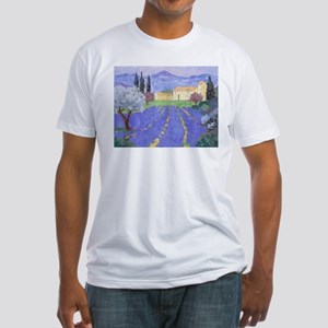 Lavender Farm Fitted T-Shirt