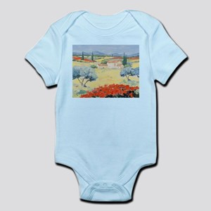 Poppy fields Infant Bodysuit