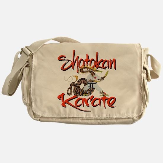 Shotokan Karate Dragon Design Messenger Bag