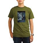 Burning Bright Organic Men's T-Shirt (dark)