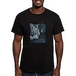 Burning Bright Men's Fitted T-Shirt (dark)