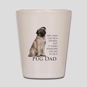 Pug Dad Shot Glass
