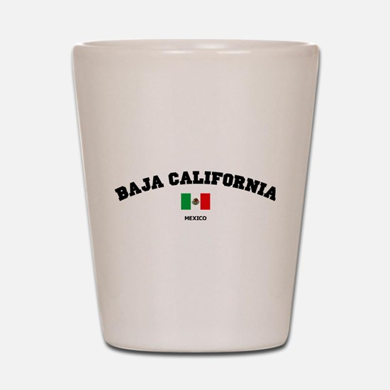 Baja California Shot Glass