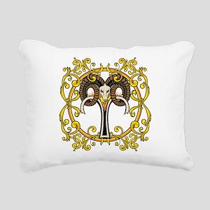 Aries Rectangular Canvas Pillow