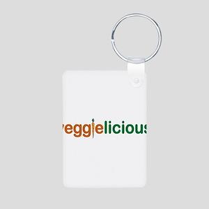 Veggielicious Aluminum Photo Keychain