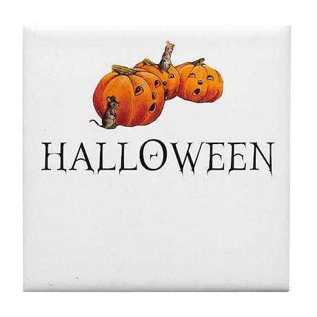 Halloween - Victorian Tile Coaster