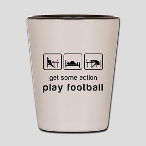 Play football Shot Glass