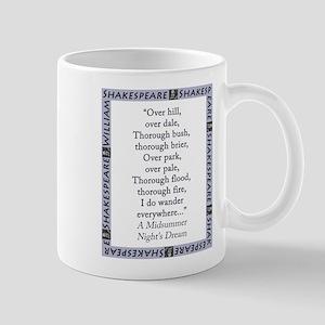 Over Hill, Over Dale 11 oz Ceramic Mug