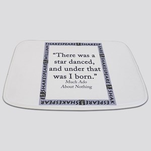 There Was A Star Danced Bathmat