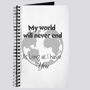 My World will never end Journal