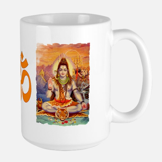 Lord Shiva Meditating Large Mug
