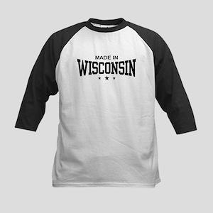 Made In Wisconsin Kids Baseball Jersey