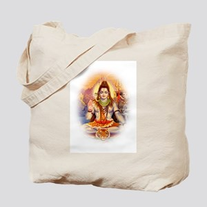Lord Shiva Meditating Tote Bag