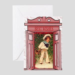 The little sailor boy Greeting Card