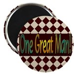 "One Great Man 2.25"" Magnet (10 pack)"
