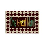 One Great Man Rectangle Magnet (10 pack)