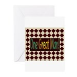 One Great Man Greeting Cards (Pk of 10)