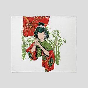 Simple Beauty Throw Blanket