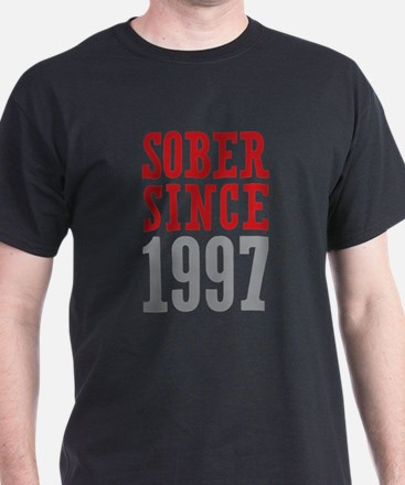 Sober Since 1997 T-Shirt