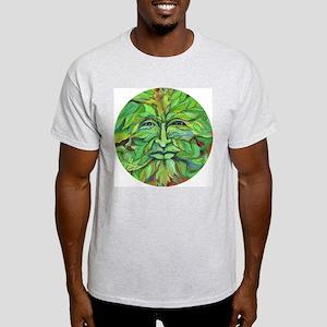 Greenman Celtic Knot Ash Grey T-Shirt