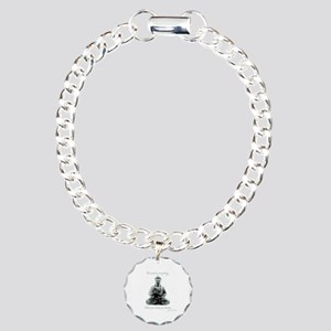 Buddha quote : Mind is Everything Charm Bracelet,